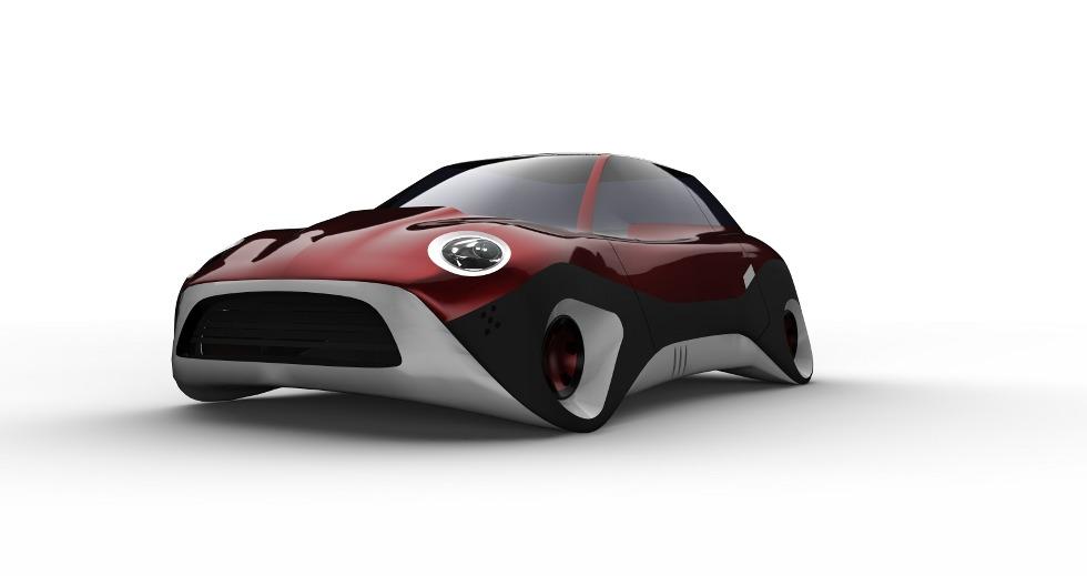 Mini Future Cars Conform Studios