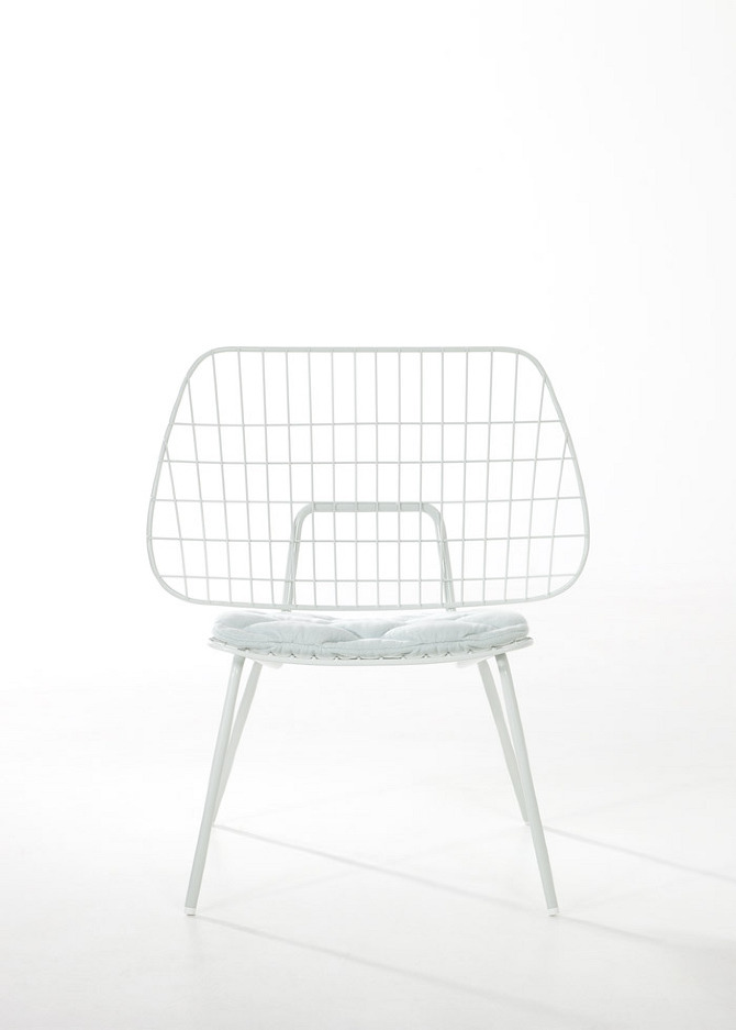 easy chair%20front Easy Chair and Gradient Lamp by Studio WM in thisispaper.com