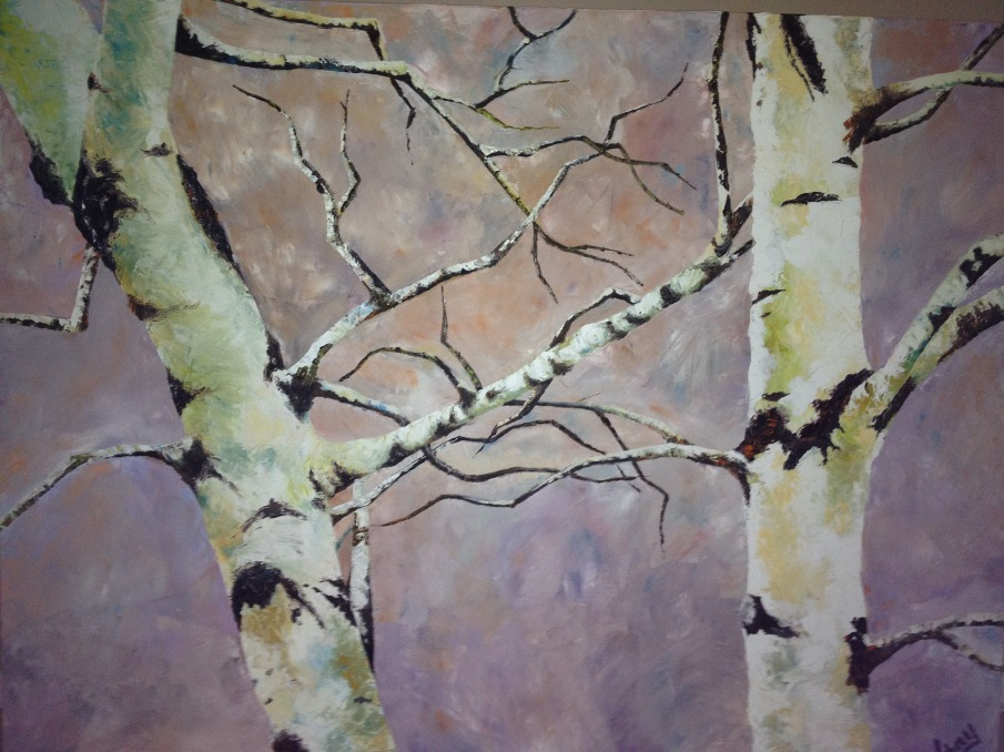 Oil Paintings of Birch Trees Birch Tree Oil on Canvas